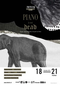 Affiche Piano Is Not Dead